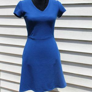 Merona Textured Fit & Flare Skater Dress + Pockets